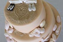 Pasteles de fiesta / Especial para una boda en la playa