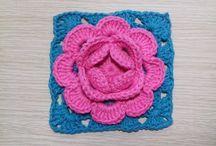 meus crochês flores