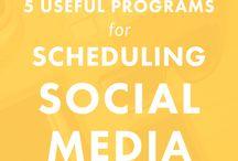 Organize Social Media / Marketing