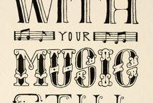 lettering misc