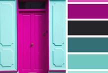 colours: mood boards