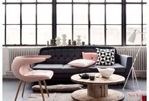 Living + Lounge / Home decor and room inspiration