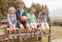 Birkenstock's for Kids / Sure, you want your kids to have healthy food. But what about healthy shoes? Children's feet are still growing and their bones are still forming. The contours of a Birkenstock mirror the foot's shape, which encourages proper growth. And that's a good first step.