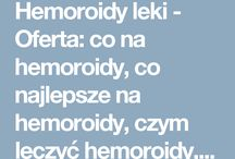 Hemoroidy leki