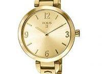 Relojes dorados mujer