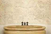 luxury stencils, plasters