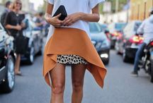Street Style Fashion Chic / Photos depicting street style looks