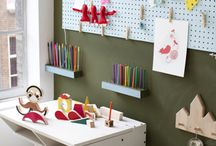 Pegboard Ideas for the Home / We think pegboards are one of the most versatile storage tools out there. Here are some pegboards used in the home. Functional and beautiful! To see our pegboard products, visit our pegboard page at http://www.tritonproducts.com/pegboards/