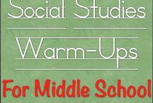 Social Studies Ideas