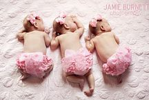 TRIPLETS!!!!! / I just had TRIPLETS on December 24, 2013! My 3 girls are an amazing blessing! They already love their older sister too!