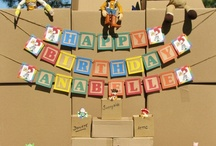 Kids - Parties: Toy Story Birthday / Toy Story Themed Birthday Party Ideas