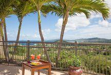 Always Summer / Caribbean living at its best. 3 bedroom, 3 baths, sleeps 8. http://champagnevacationrentals.com/66629