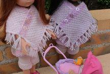 vetements poupées