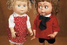dolls,googlies and caractere