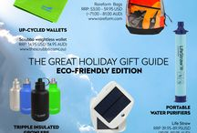 2016 Eco-Friendly Gift Guide for a Greener Getaway / If you fancy a greener holiday in 2017, you're not alone and we're here to help! As we at the Scrubba know a thing or two about green products, we've compiled a list of our favourite practical and effortlessly green travel accessories, guaranteed to help make your next holiday your greenest one yet!