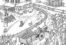 Coloring pages Farm
