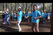 OPENING ICE BREAKING - OUTBOUND LEMBANG GEO ADVENTURE INDONESIA