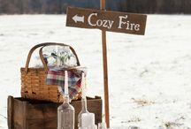 winterfeest buiten