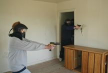 My police volunteer training and on the job