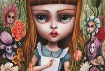 Alice in W:Mab Graves / Alice in wonderland (illustrator)