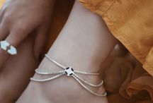 Authentic Silver Anklets
