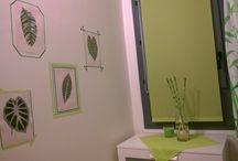 Washitape decoration / My house decoration: printable art and washitape