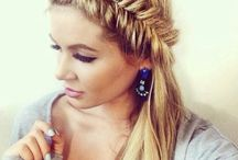 Hair / Halo braid