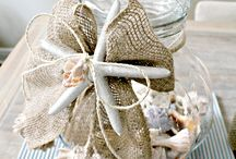 Burlap Crafts / by Heather Ferrell