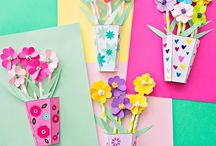 Dzien kobiet - kreatywne pomysły dla dzieci / Women's day kidscrafts / Kreatywne pomysły do zrobienia przez dzieci z okazji dnia kobiet / Women's day crafts for kids