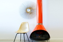 Mid-Century Modern Fireplaces