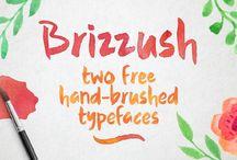 Fonts / Fuentes para tus diseños