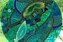 mozaiek / glas in lood