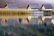 Revine Lago e dintorni.Treviso,Italia / Foto del paese in cui sono cresciuta.