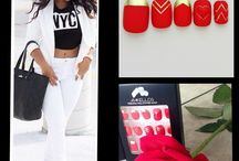 Nail Swag / See how you can style your looks with your nail swag!