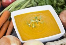 Cozy Pairings of Fruit & Vegetable Soups / Pairing fruits with vegetables works well in salads. It turns out that's also a winning combination for soups, served either warm or chilled. / by Restaurant Hospitality