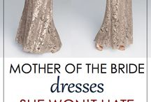 Mother of the bride dresses / Stylish mother of the bride dresses