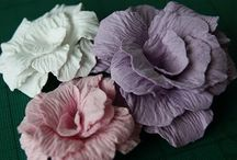 Crafts : Fabric & paper petals / by Michelle Holby