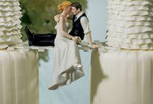 Romantikus esküvői tortadíszek - Wedding cake toppers