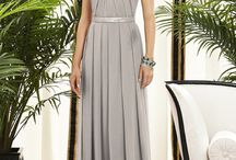 Grey Bridesmaid Dress