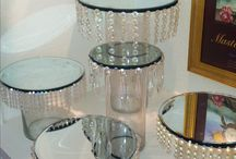 cake stands etc