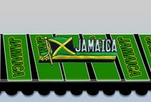 Jamaica Products in color flag logo / We have the best product in Jamaica color flag logo.