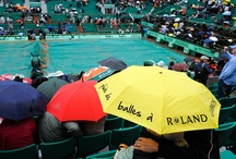 Raining French Open, Happy French Open ? / Roland pluvieux, Roland heureux ?