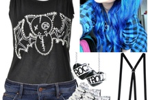 Emo, Pastel Goth, Goth, Grunge, And Scene: Clothes, Hair, Makeup, and Jewelry + Band Stuff / Emo, Pastel Goth, Goth, Grunge, and Scene: Clothes, Hair, Makeup, And Jewelry+Band stuff! Comment or follow to be invited!