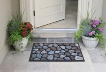 Front Entryways / Doormats that wow.