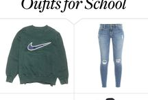 •OUTFITS FOR THE SCHOOL•