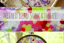 melted beads craft