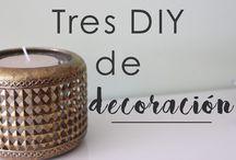 DiY / ¿Te gustan los diy sencillos? Este tablero te va a encantar! | Do you like the easy diy? This This board is going to be charmed with you #blog #blogger
