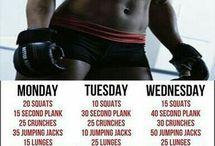 Home workout plan week