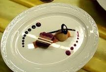 plating food