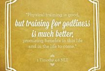 Training for Godliness / by Sarah Boyle